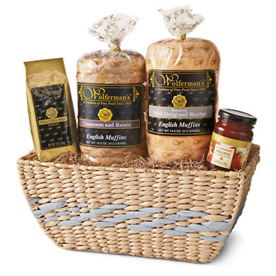 Bright Breakfast Gift Basket Delight