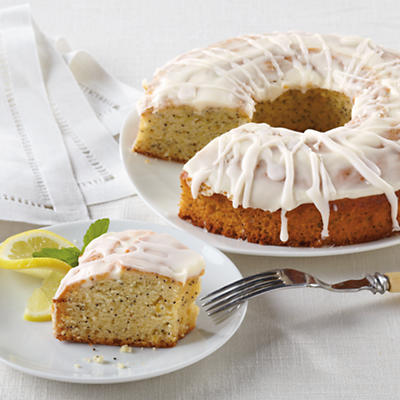 Lemon Poppy Seed Coffee Cake