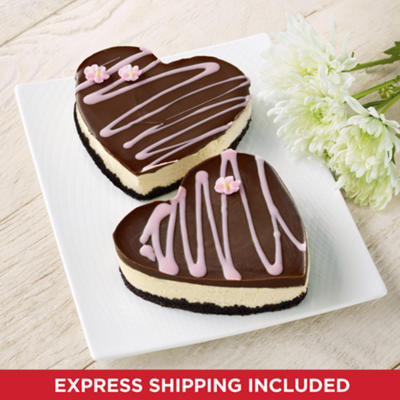 <span style=color:#bb0011>NEW</span> Mother's Day Heart Cheesecakes