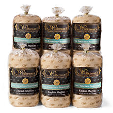 San Francisco Sourdough Signature English Muffins 6-Pack