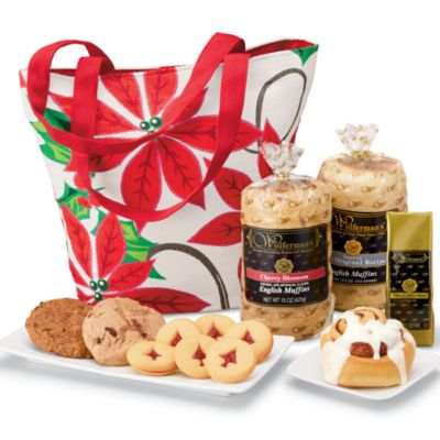 Poinsettia Handbag Breakfast Gift