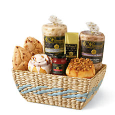 Bright Breakfast Gift Basket Deluxe