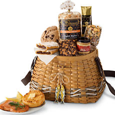Gourmet Goodies Fishing Basket