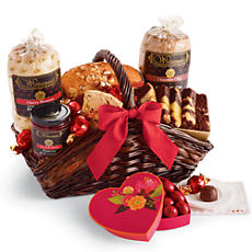 NEW Valentine Chocolate Cherry Gift Basket