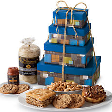 Snacking Favorites Gift Tower