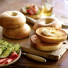 NEW Davidovich Bakery Plain Bagels