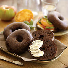 NEW Davidovich Bakery Pumpernickel Bagels
