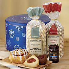 Wintertime Bakery Gift Tin