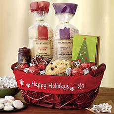 Happy Holidays Sweets Basket