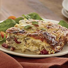 Artichoke Breakfast Quiche