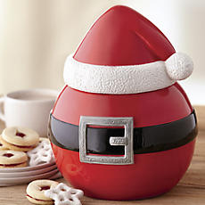 Santa Belly Cookie Jar
