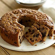 Apple Date Coffee Cake