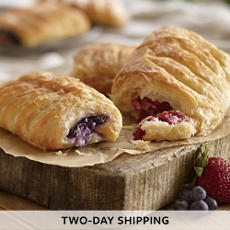 Strawberry and Blueberry Croissants