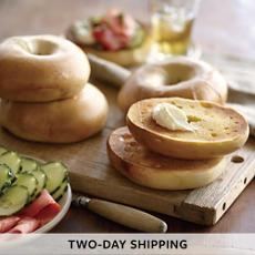 Davidovich Bakery Plain Bagels