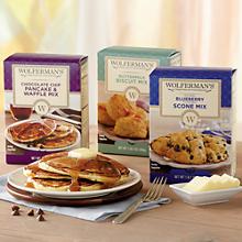 Wolferman's® Baking Mixes - Pick Three