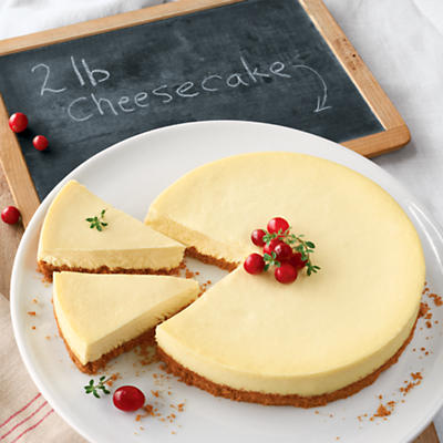 Signature Cheesecake 2 Pounds