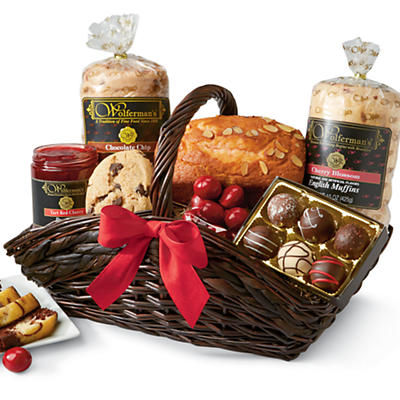 Chocolate Cherry Gift Basket