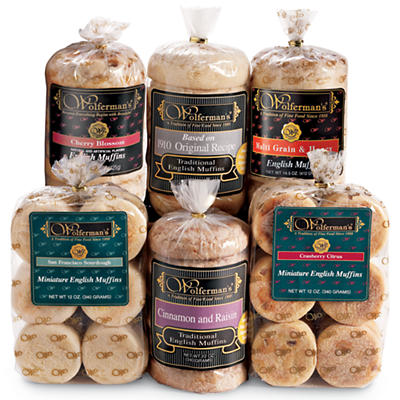 English Muffins Variety Assortment
