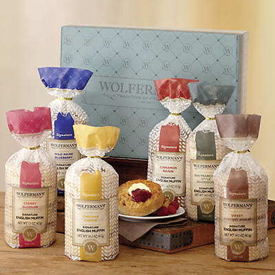 Create-Your-Own Signature English Muffins Gift Box - Six Packages