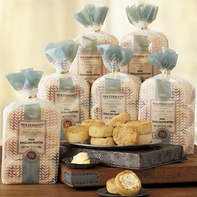 1910 Original Recipe Mini English Muffins - Six Packages