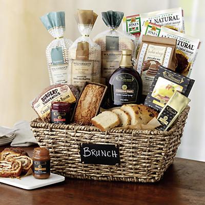 Gourmet Brunch Chalkboard Basket