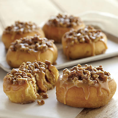 Nutty Sticky Bun Duo