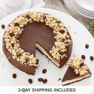 Mocha Layer Cheesecake
